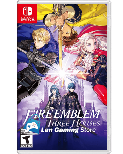 Fire Emblem Three Houses para Nintendo Switch con poster gratis Peru