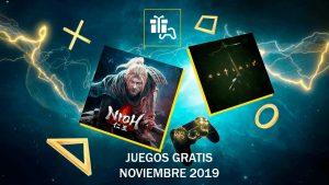 Juegos gratis de Playstation Plus de noviembre 2019