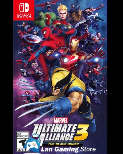 Marvel Ultimate Alliance 3 para Nintendo Switch con poster Peru