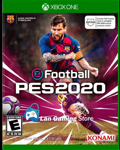 eFootball PES 2020 para Xbox One nuevo y sellado con envío a todo el Peru