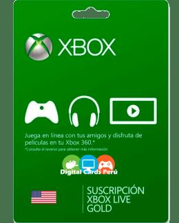 Foto Base Xbox Live Gold cuenta USA