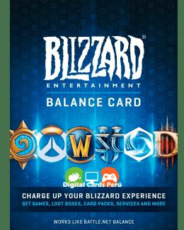 Foto de Ejemplo de Tarjetas Blizzard Batlle Net