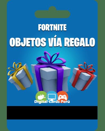 Fortnite Pavos vía Regalos Peru