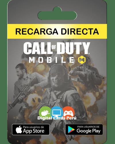 Recargas Cod Mobile en Perú