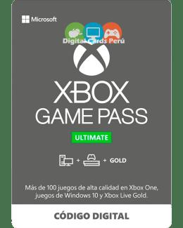 Foto Base Xbox Game Pass Ultimate cuenta Perú