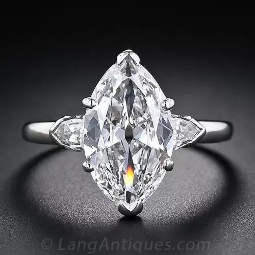 339 Carat GIA E Internally Flawless Antique Marquise