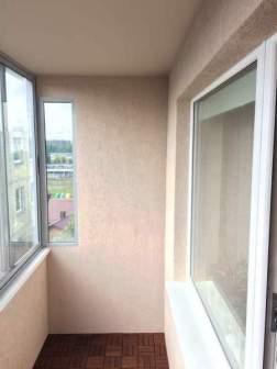 balkono sienu apdaila