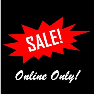 Online Only Sale