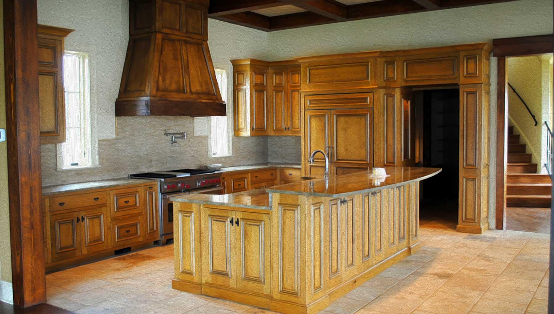 Merveilleux Custom Kitchen Cabinetry