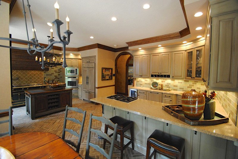 Traditional Dual Kitchen
