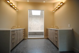 Modern Dual Vanity Bathroom 2