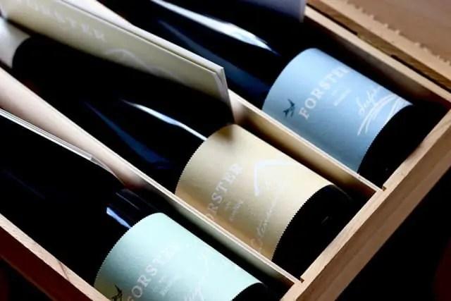 Nicht links liegen lassen: Weingut Forster/ Nahe