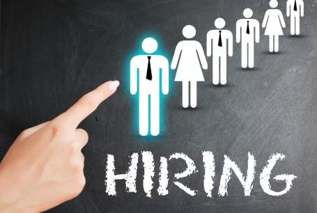 Hiring a new employee or recruitment process