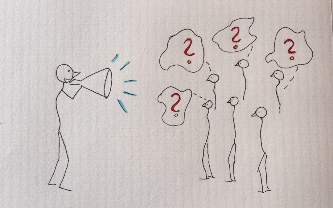 Tag rummet og blive hørt – men tænk på effekten!