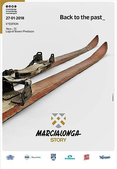 traditionelle Langlaufveranstaltung Marcialonga Story