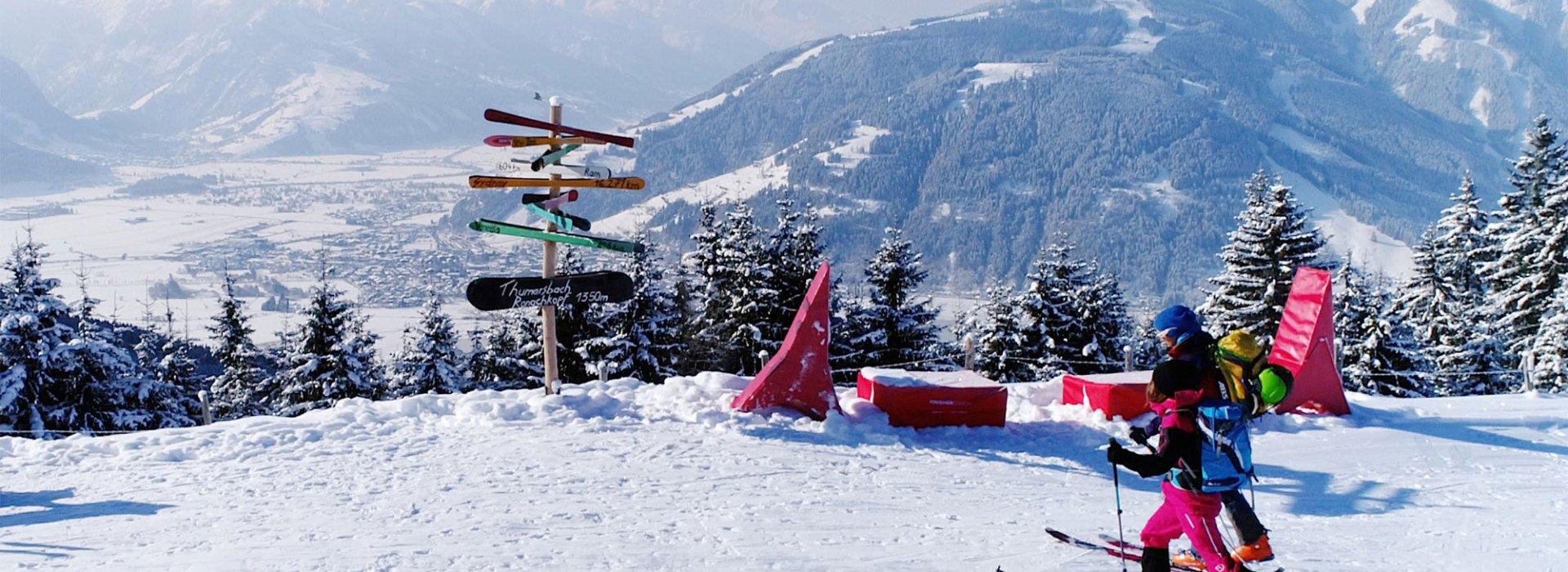 Sktiour in der Winterregion Zell am See
