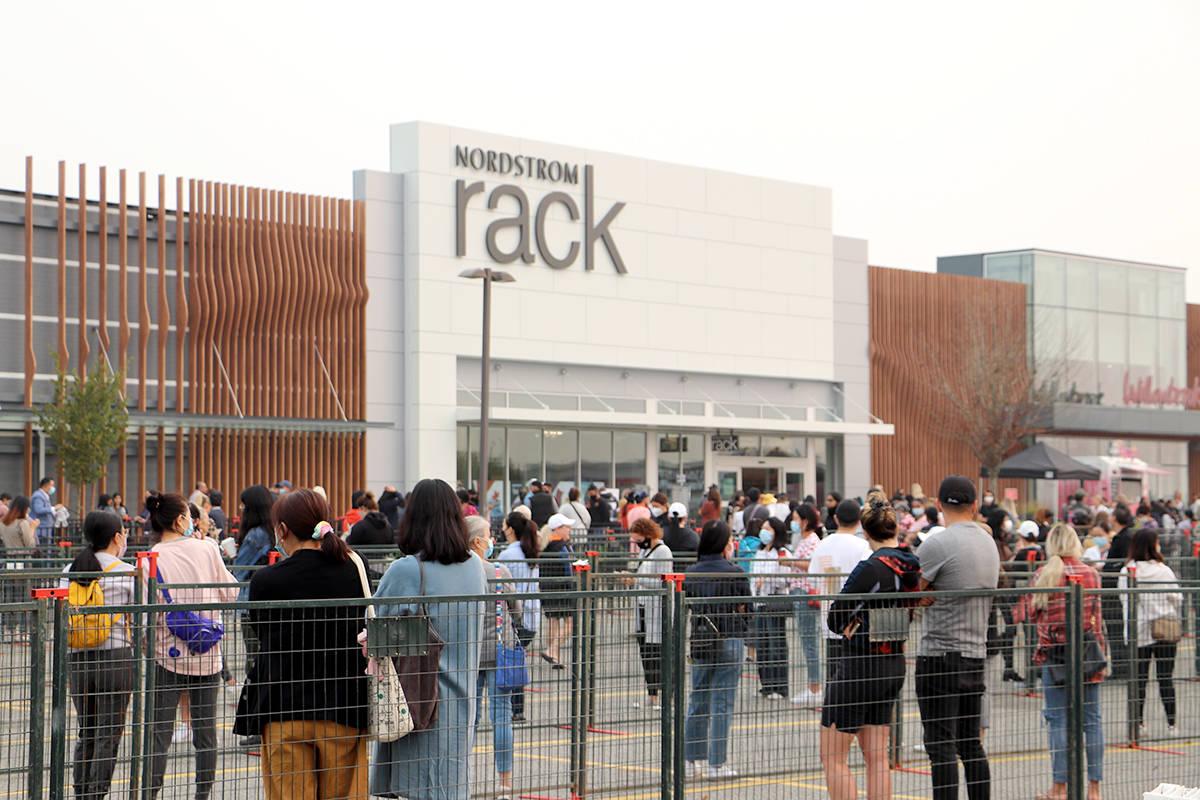 langley nordstrom rack opening