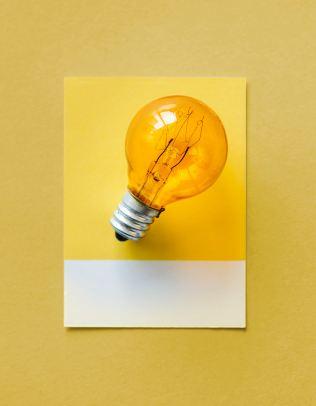 yellow bulb