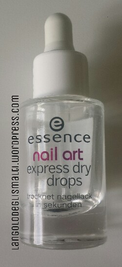 Essence Express Dry Drops Langolo Degli Smalti In English