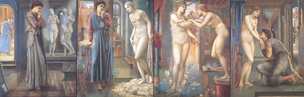 Burne-Jones, Pygmalion and the Image series