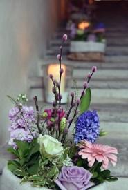 le spose dell'angolo dei fiori di rossana
