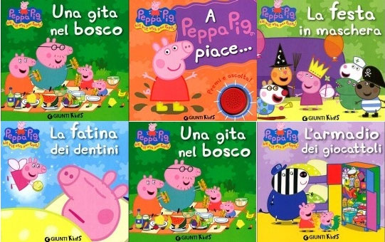 libri peppa pig