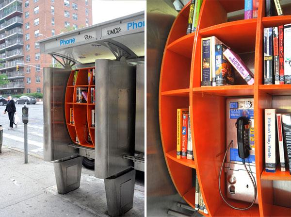 cabine telefoniche bookcrossing
