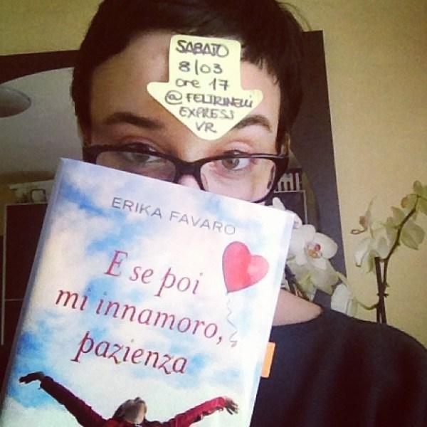 Sabato 8/03 ore 17 @ Libreria Feltrinelli VR #keepinmind #incontroconlautore