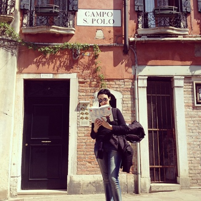 Sono venuta a trovare Carlotta #bookstagram #venice #LibriperViaggiare
