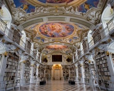 biblioteca del monastero di admont