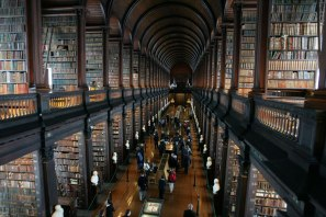 trinity college library