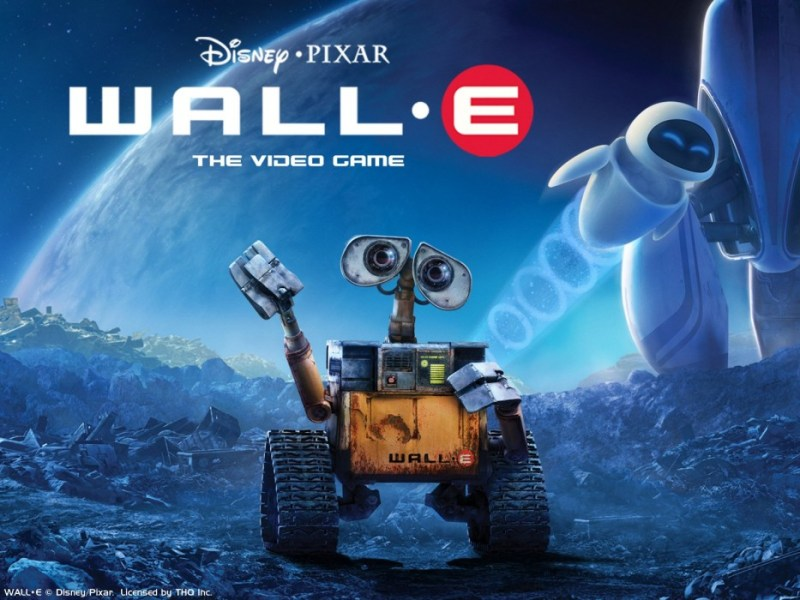 cartoni animati fantascienza wall e