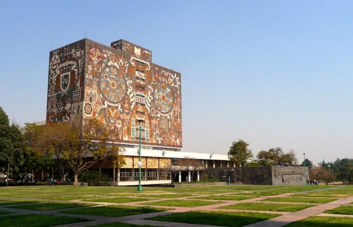 biblioteca central mexico