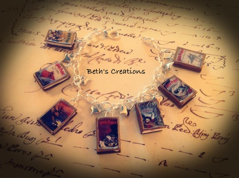 bracciale libri harry potter