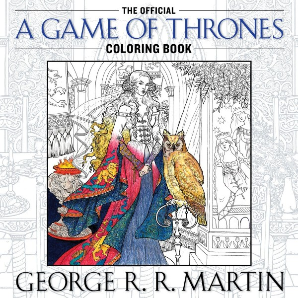 colouring book games of thrones