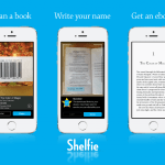 Shelfie: l'app che converte libri di carta in e-book