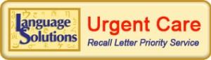 healthcare translations urgent care