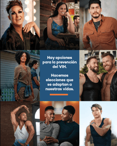 Advertising Image of Group of people with HIV