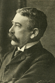 Ferdinand de Saussure [a photo portrait]