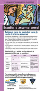 Portuguese Safety Brochure Translation 1