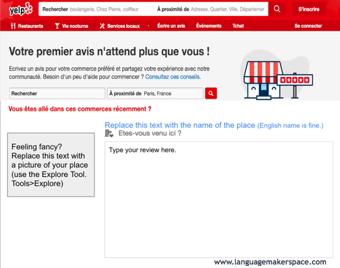 french yelp template