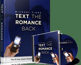 Text Romance Back