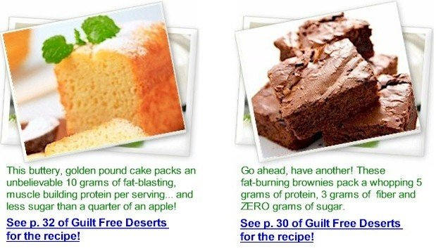 Guilt Free Desserts Kelley