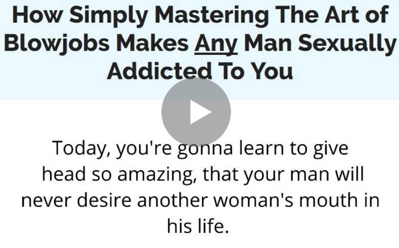 Jack's Blowjob lessons
