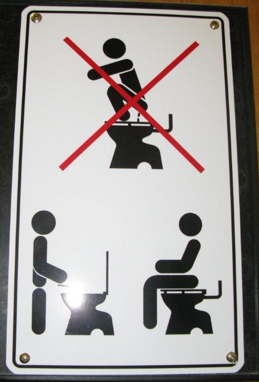 keep bathroom clean sign. pics photos signs keep bathroom clean,