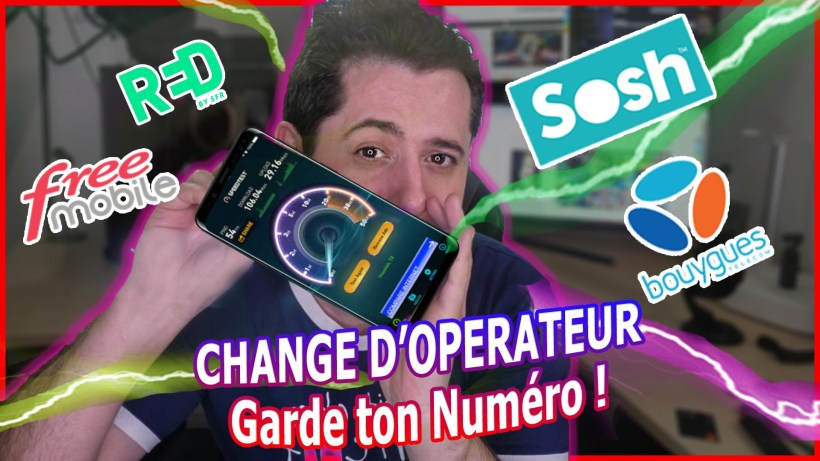 changer operateur sosh freemobile red bouygues portabilite garder numero rio