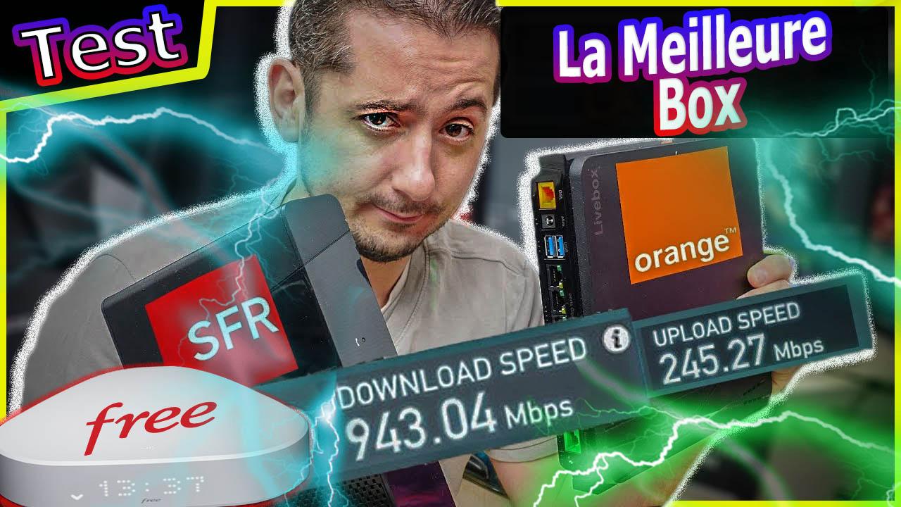 La meilleure Box Internet : Freebox Delta V7, Livebox4, SFRBox