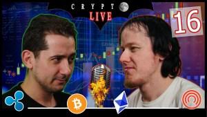 Bitcoin #CryptoLive16 : actu et debrief autour des cryptomonnaies