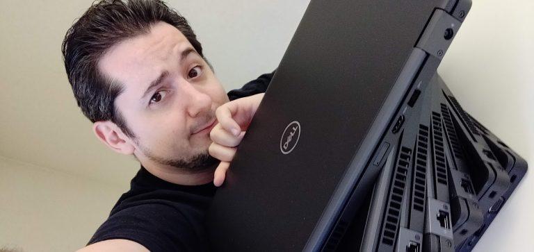 dell laptop ordinateur portable ssd