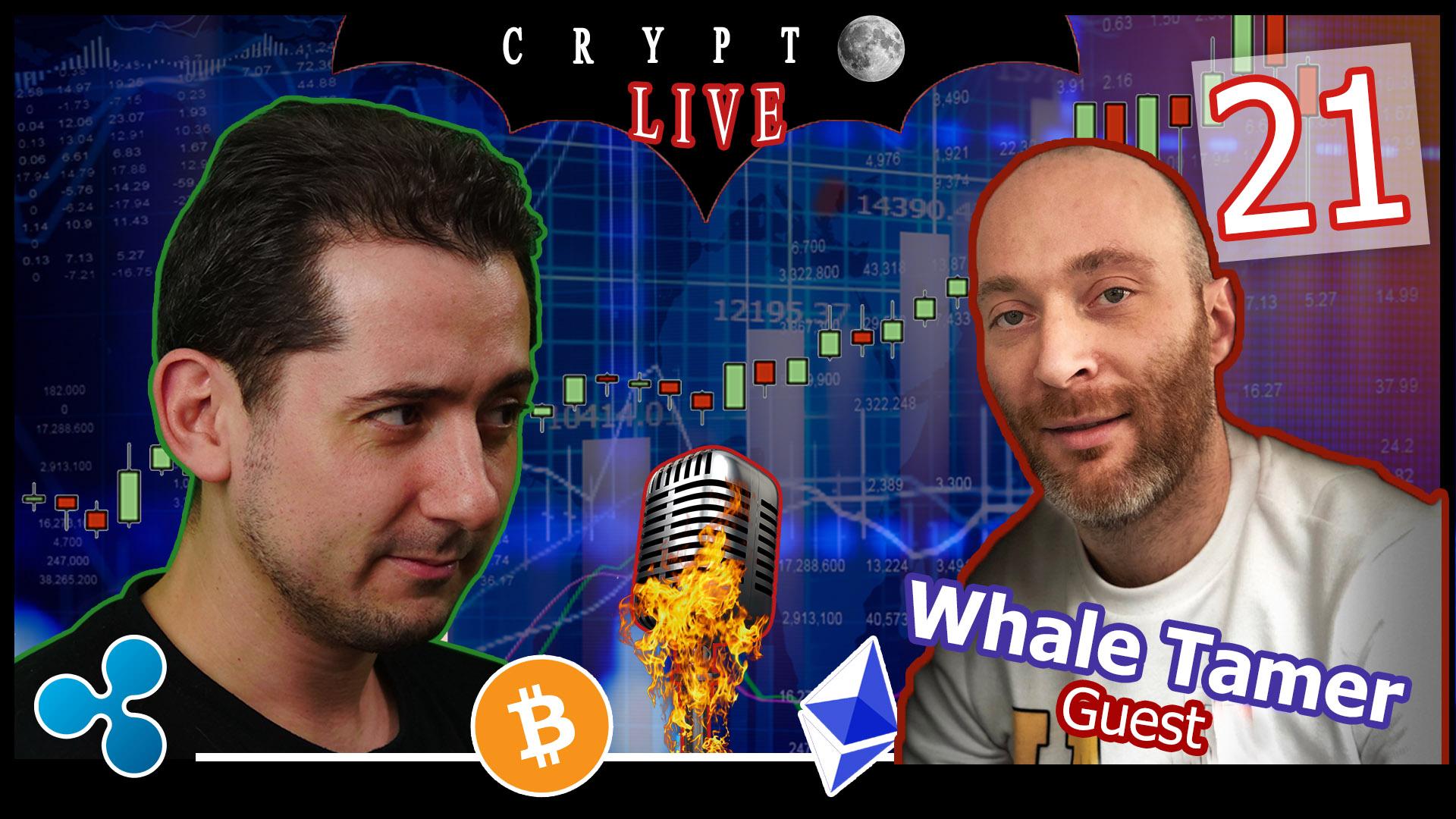 Bitcoin #CryptoLive 21 avec Whale Tamer 👕 #Regulation #Coinbase 🤔#CloudAct #ERC20